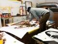 3Steps - Art Karlsruhe - Working - Studio - Birds of Prey - 16