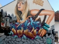 Painted during summer at the Lahnstreet in Giessen.