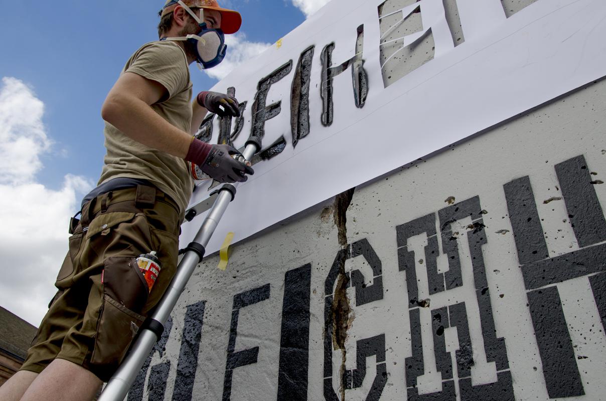 3Steps | REFLEXION - Berliner Mauer | Giessen 2015