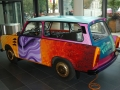 Handpainted Trabi 601S for the day of german unity in 2012.