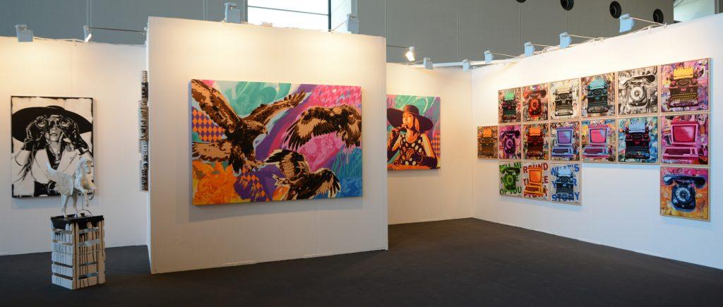 3steps 2cforart Gallery Presents 3steps Soloshow At The Art Karlsruhe