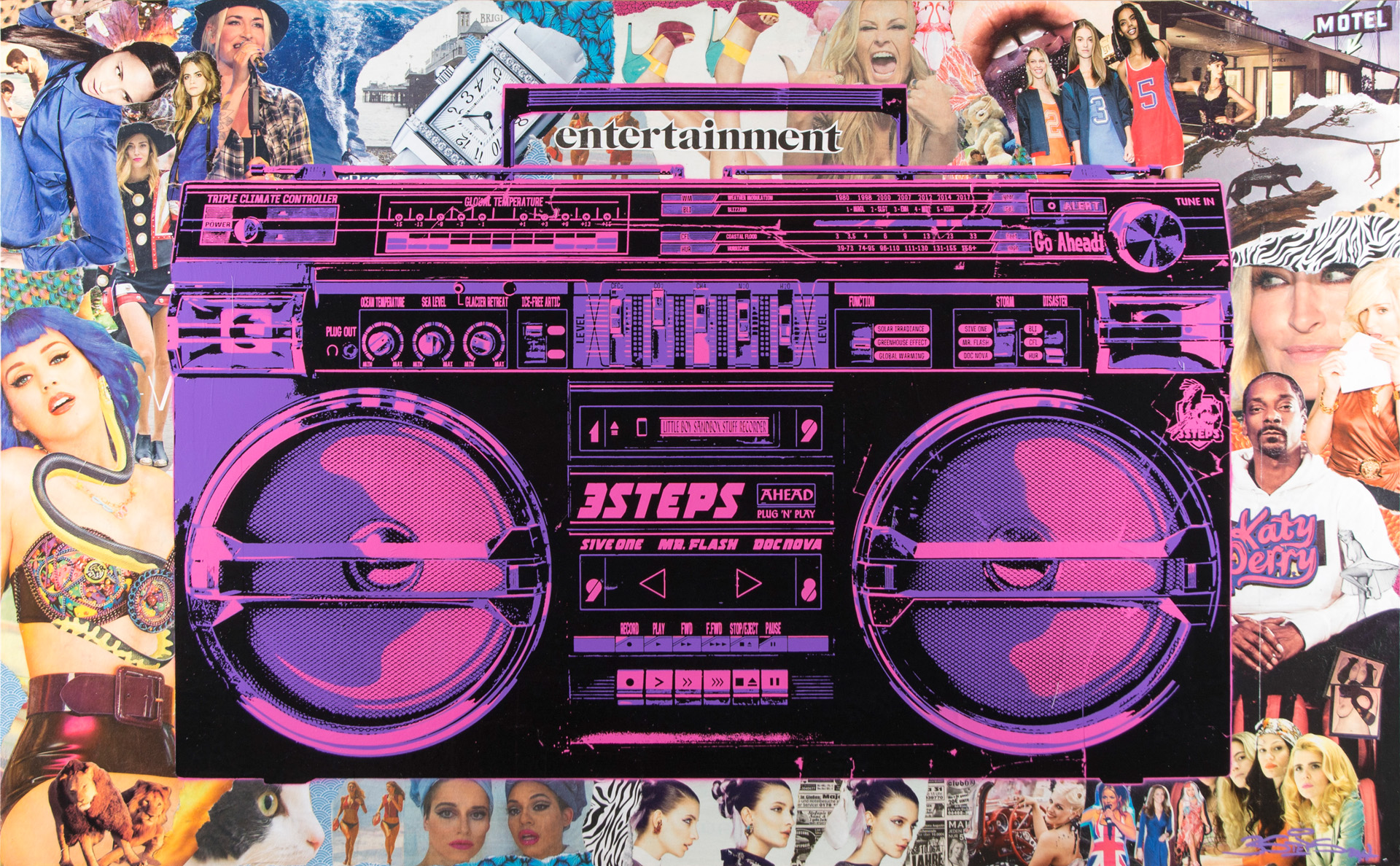 Boombox # Clippings of Entertainment