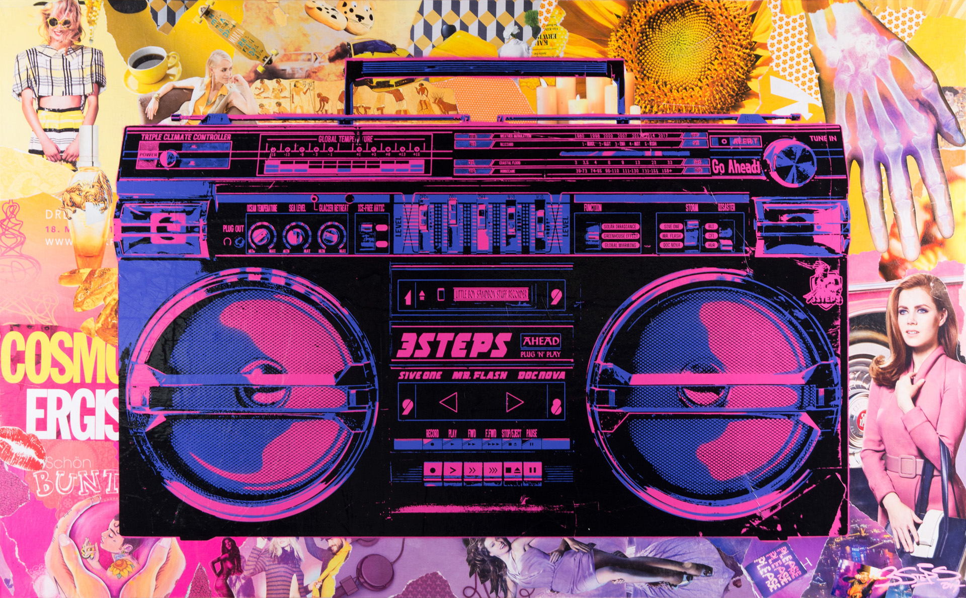Boombox # Color Cosmos