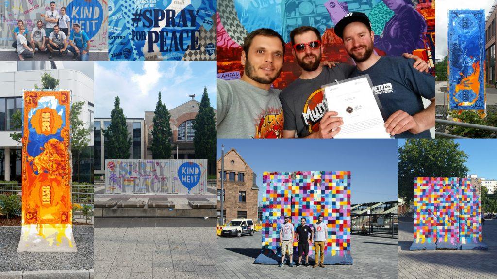 3Stepss   Kai Krieger, Joachim Pitt, Uwe Krieger   3Steps art collective in their atelier