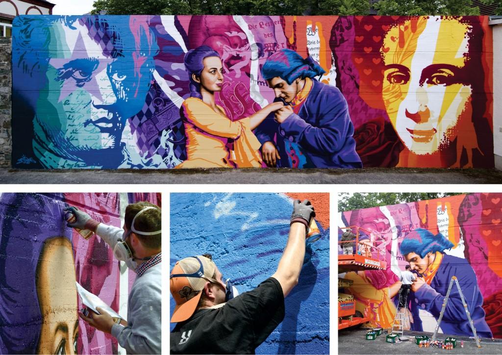 3Steps | Werther Mural | Wetzlar 2015