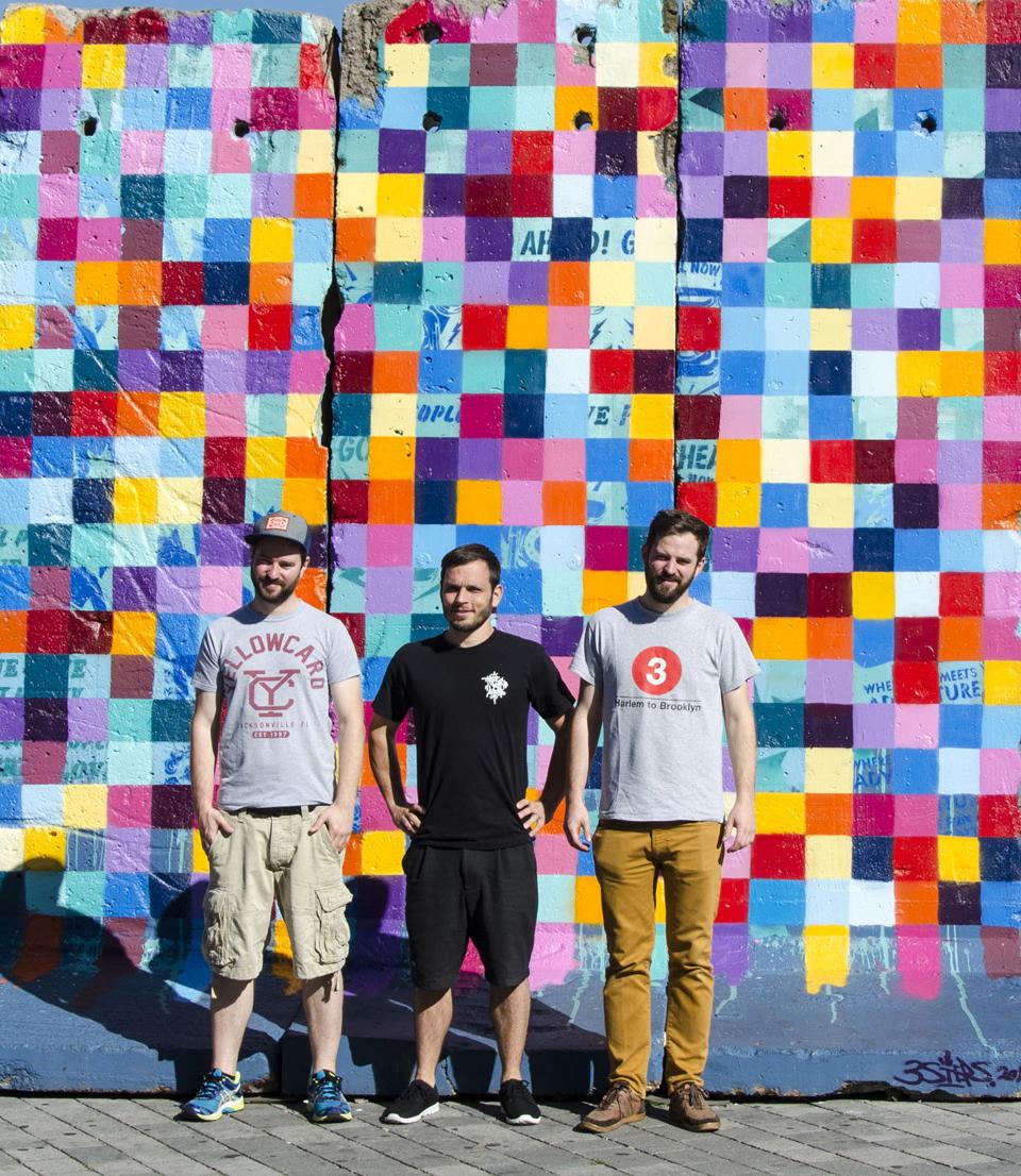 3Steps | REFLEXION - Berliner Mauer | Giessen 2016